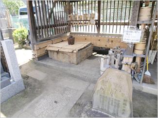 加賀の千代女の朝顔の井戸